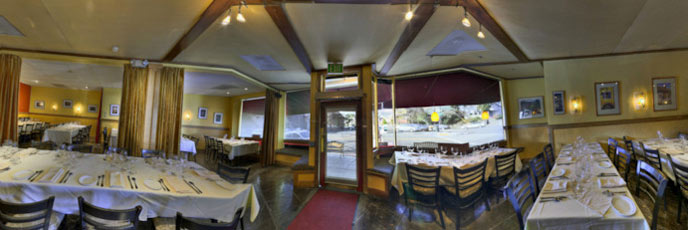 Panorama restaurant photography Citron